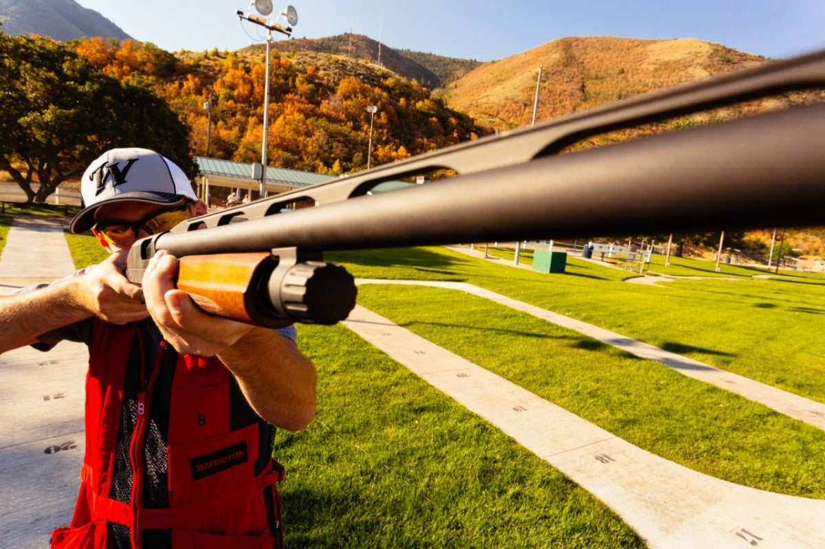 Trap shooting with the Winchester SXP Trap and Trap Compact.
