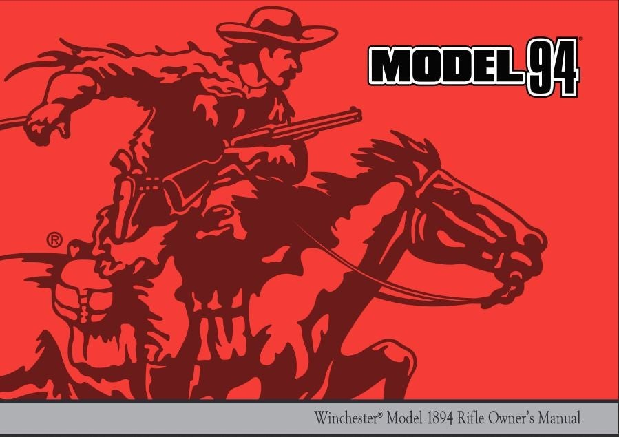 Image of Model 94 Owner's Manual Cover
