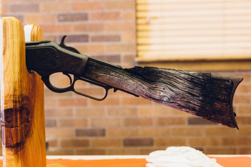 "The ""Lost Model 1873"" Pays a Visit to Winchester Repeating Arms"