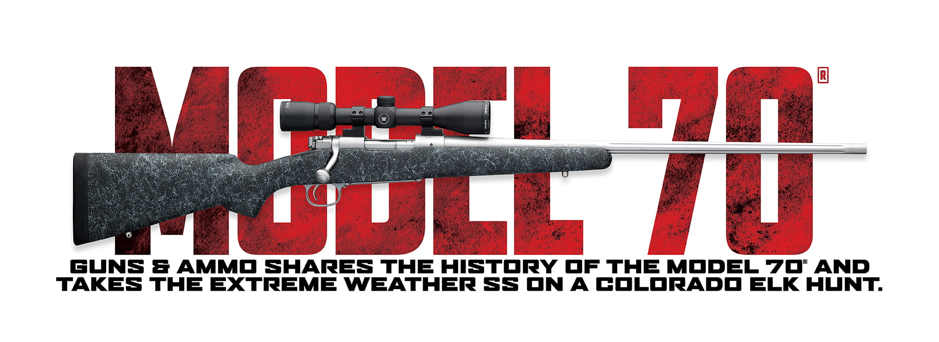 Model 70 Rifle Extreme Weather SS Banner