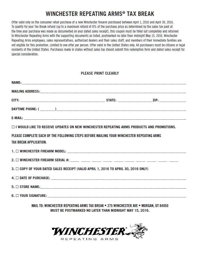 If You Don T Want To Use The Online Redeption System And Like Pdfs Just Print Out Coupon Form Below Send It In Mail No Problem
