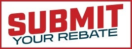 Submit your rebate online button
