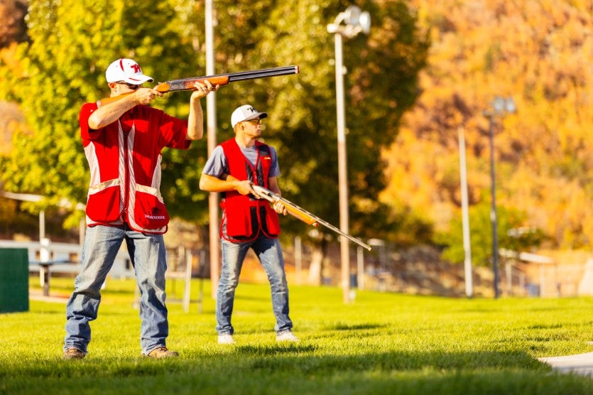 Trap shooting with Model 101
